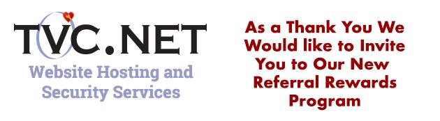 TVCNet ♥ - Referral Rewards Program