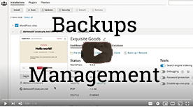 cPanel WordPress Toolkit Backups Included